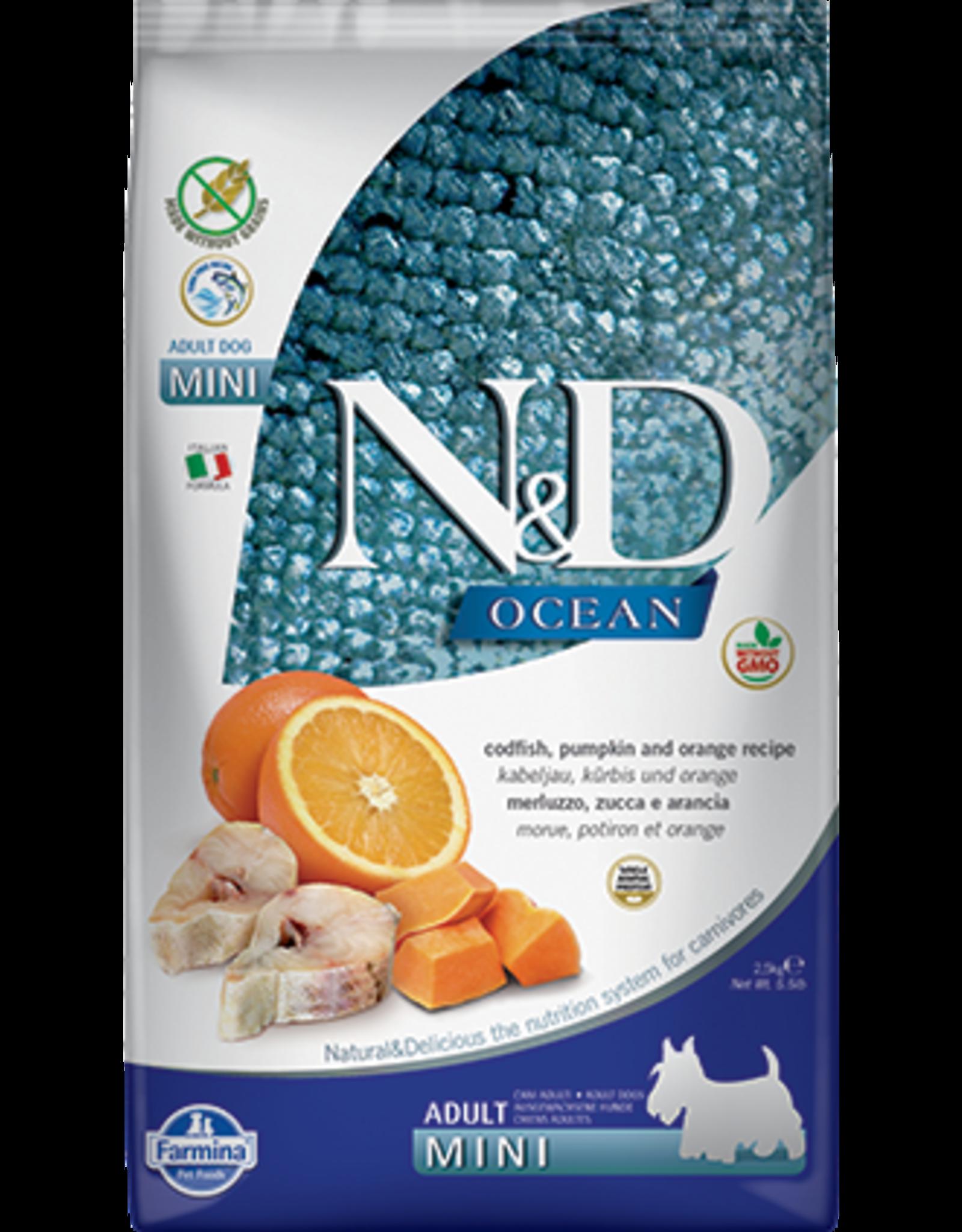 Farmina Farmina Pumpkin/Ocean: Codfish & Orange Adult