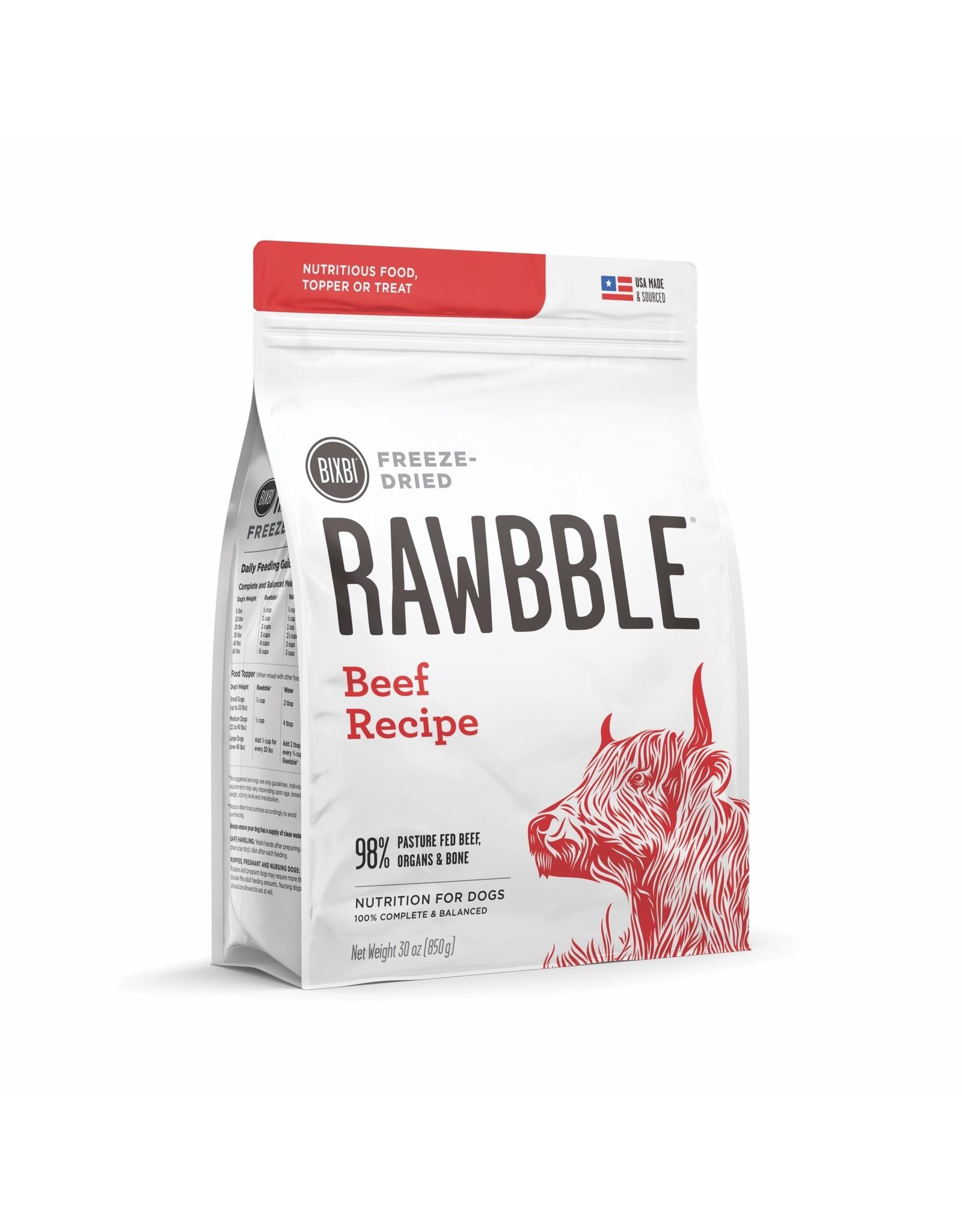 Bixbi Bixbi Rawbble Freeze Dried: Beef