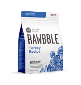 Bixbi Bixbi Rawbble Freeze Dried: Turkey - 3 sizes available