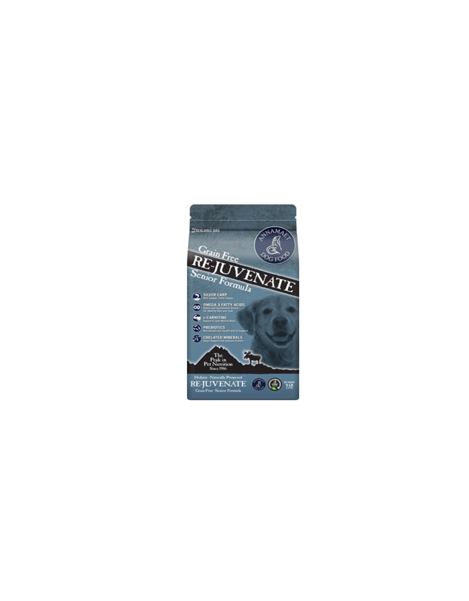 Annamaet Annamaet Senior Re-juvenate Grain Free: Silver Carp