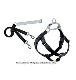 2 Hounds Design Freedom No-Pull Harness: Black
