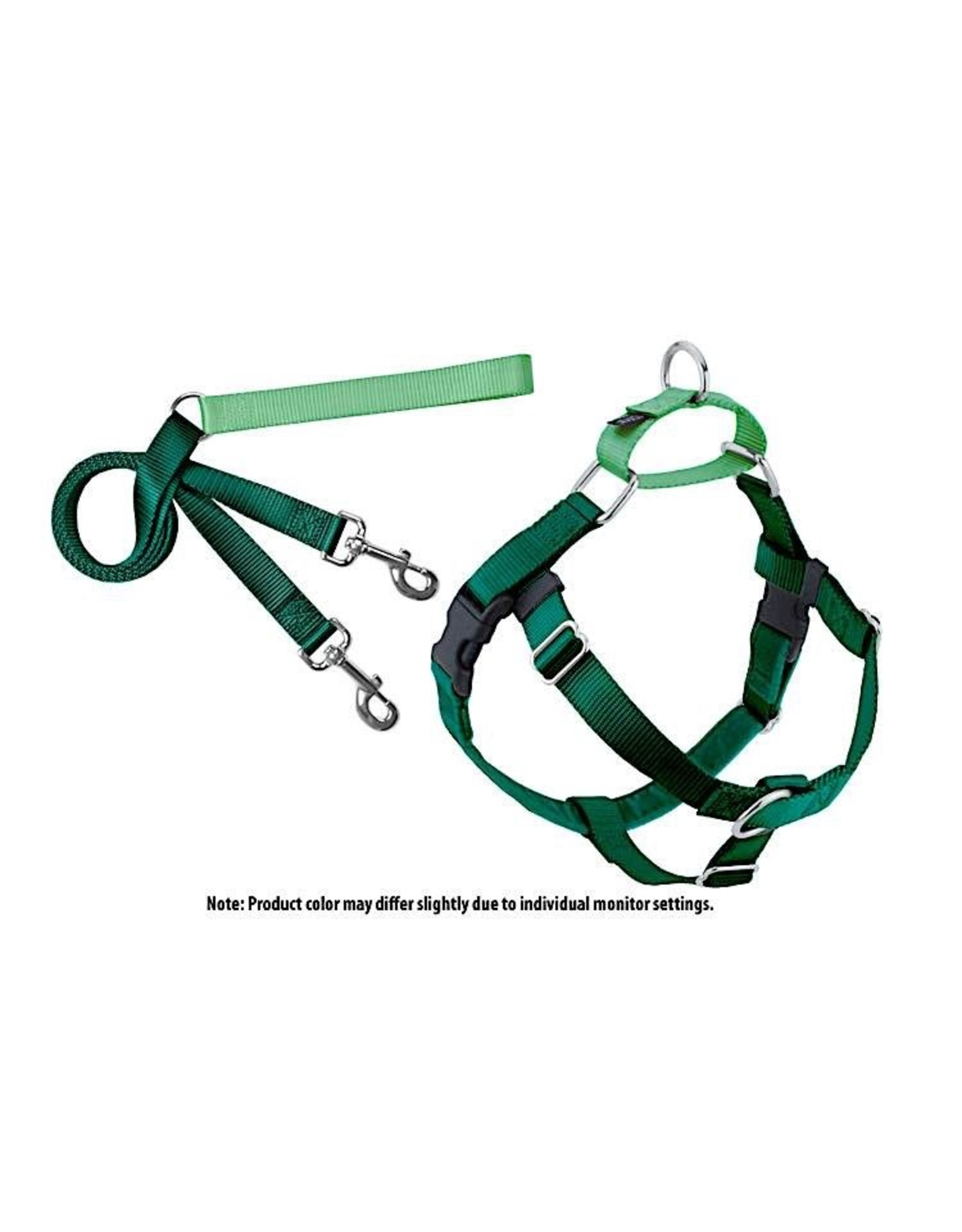 2 Hounds Design Freedom No-Pull Harness: Kelly Green