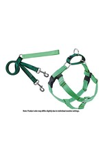 2 Hounds Design Freedom No-Pull Harness: Neon Green