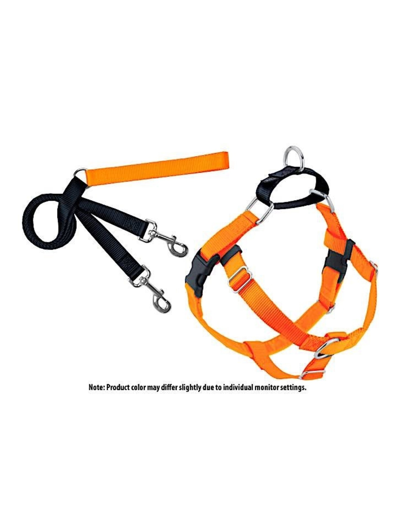 2 Hounds Design Freedom No-Pull Harness: Neon Orange