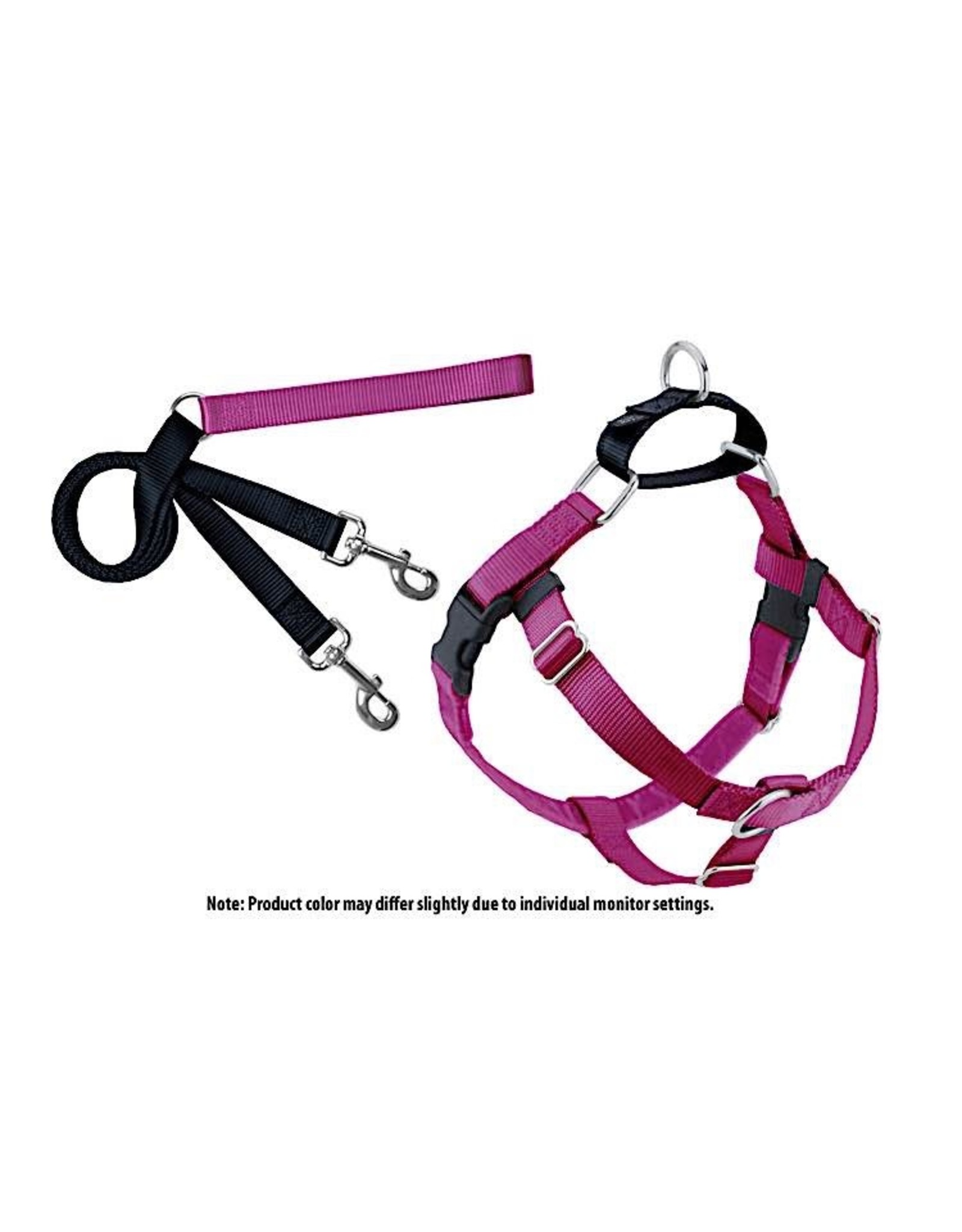 2 Hounds Design Freedom No-Pull Harness: Raspberry