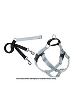 2 Hounds Design Freedom No-Pull Harness: Silver