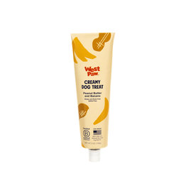 West Paw West Paw Creamy Treats: Peanut Butter & Banana, 5 oz tube