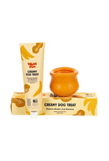 West Paw West Paw Creamy Treats: Peanut Butter & Banana, 5 oz tube