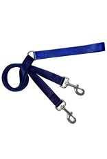 2 Hounds Design Double Connection Training Lead: Navy, 5/8""