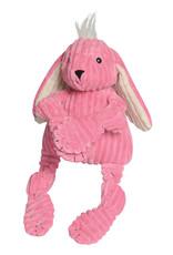 Hugglehounds Knottie Bunny: Pink, Mini