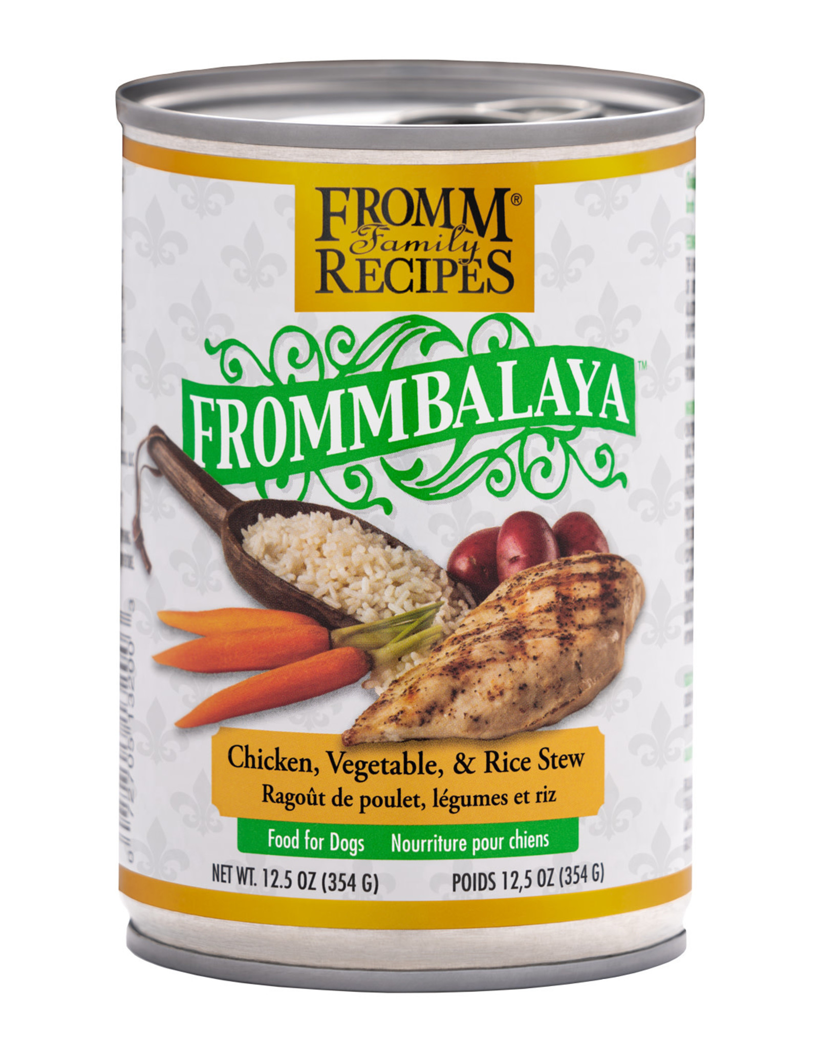 Fromm Fromm Chicken Frommbalaya Stew: Can, 12.5oz