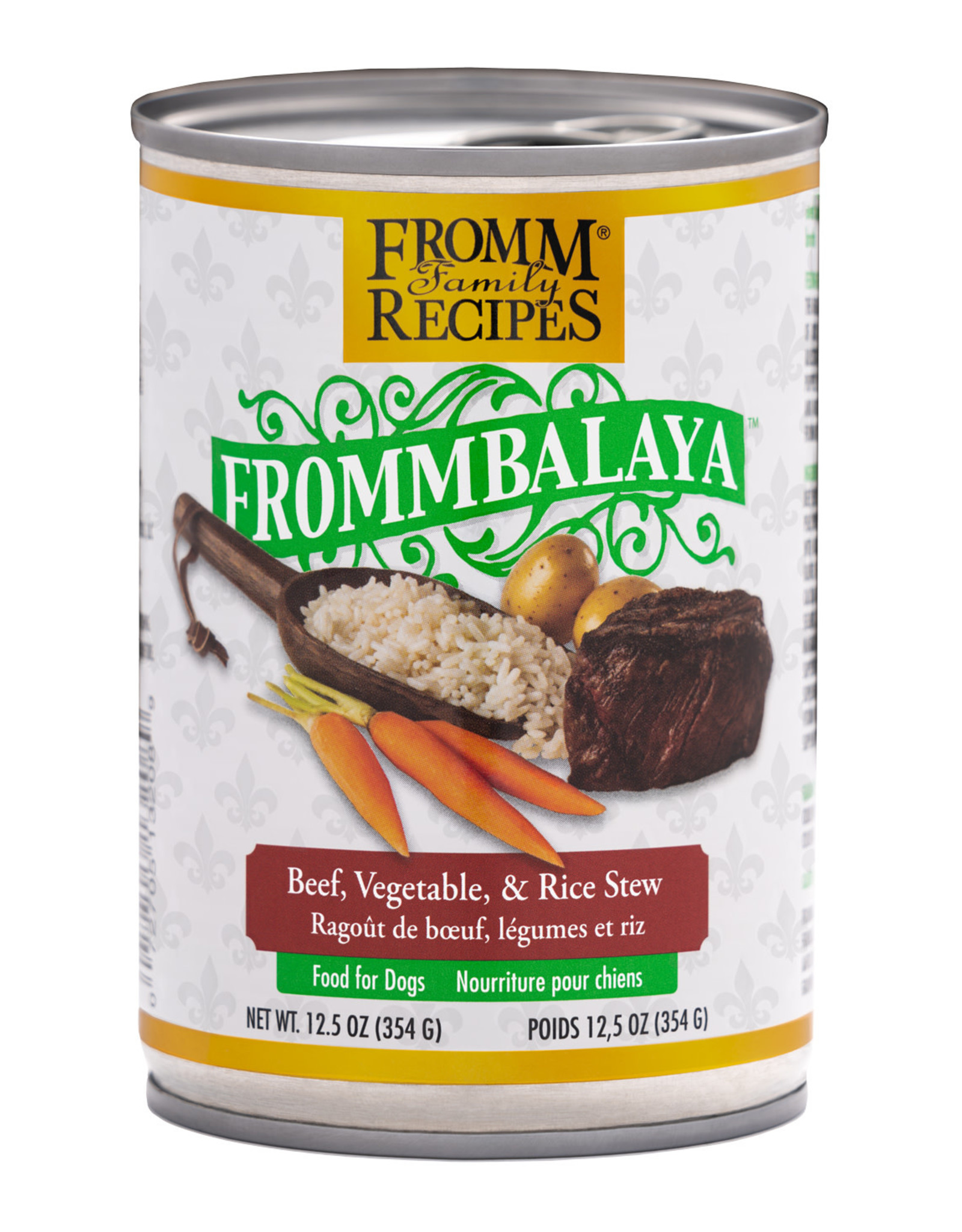 Fromm Fromm Beef Frommbalaya Stew: Can, 12.5oz