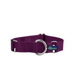 """2 Hounds Design Double loop Martingale: Burgundy, 5/8"""" S"""
