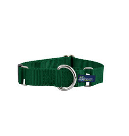 """2 Hounds Design Double loop Martingale: Kelly Green, 1"""" L"""