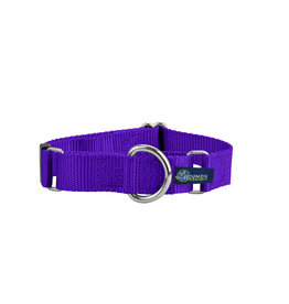"2 Hounds Design Double loop Martingale: Purple, 5/8"" M"