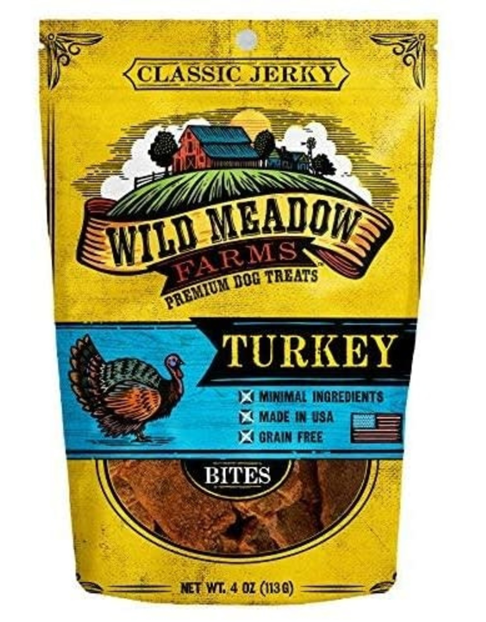 Wild Meadow Farms Wild Meadow Farms Classic Bites: Turkey, 4 oz