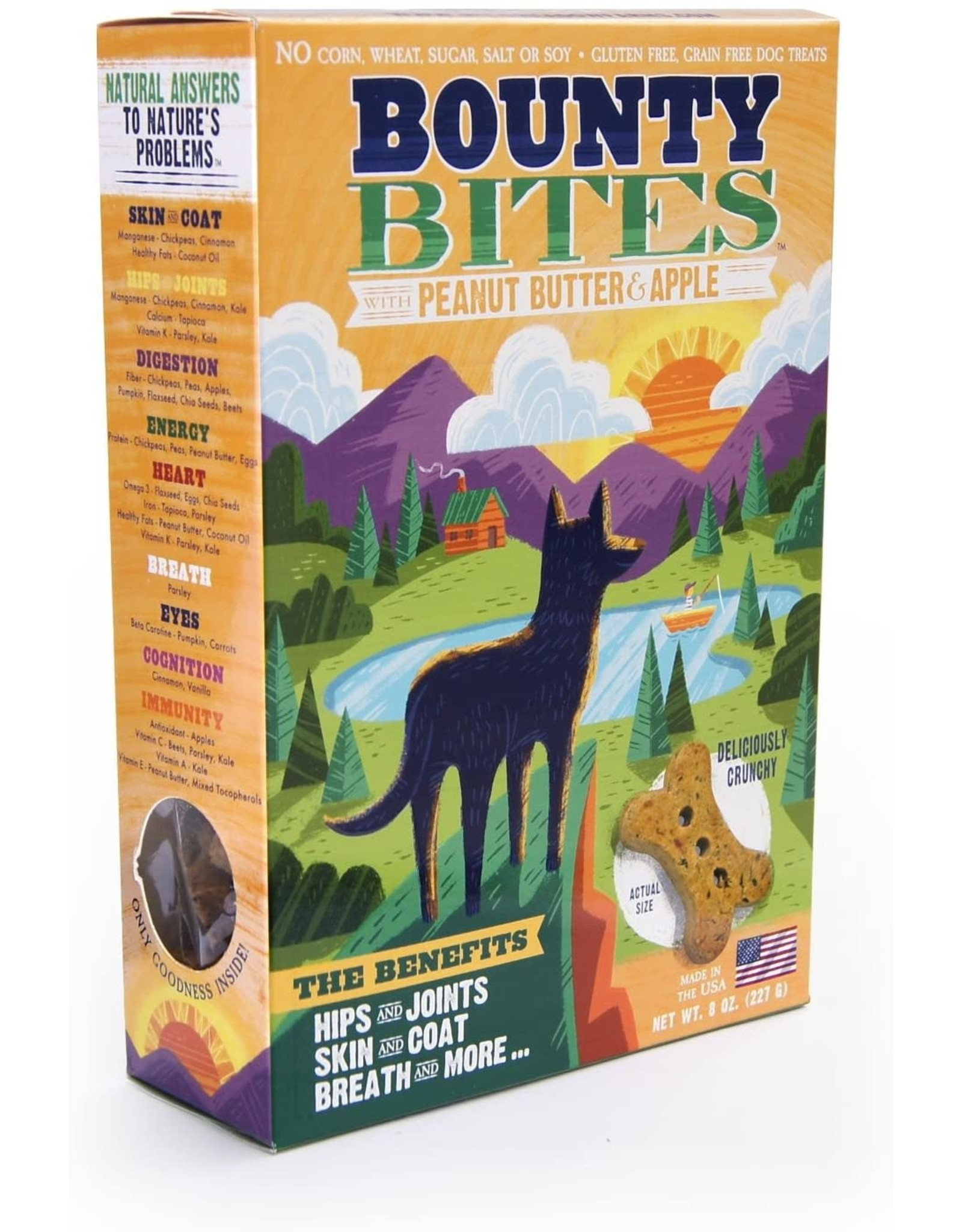 Wild Meadow Farms Bounty Bites Biscuits: Peanut Butter & Apple, 8 oz