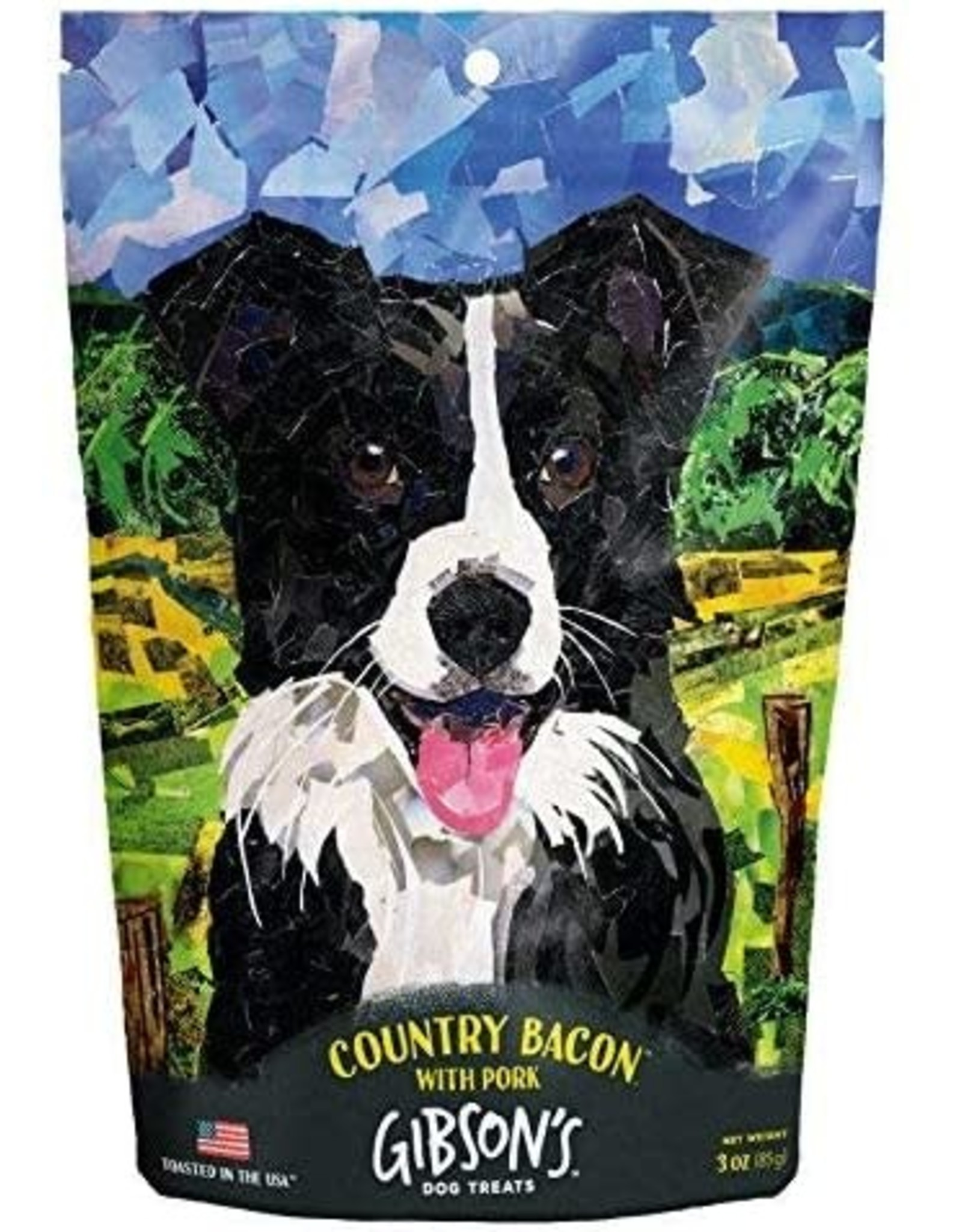 Wild Meadow Farms Gibsons Toasted: Country Bacon with Pork, 3oz