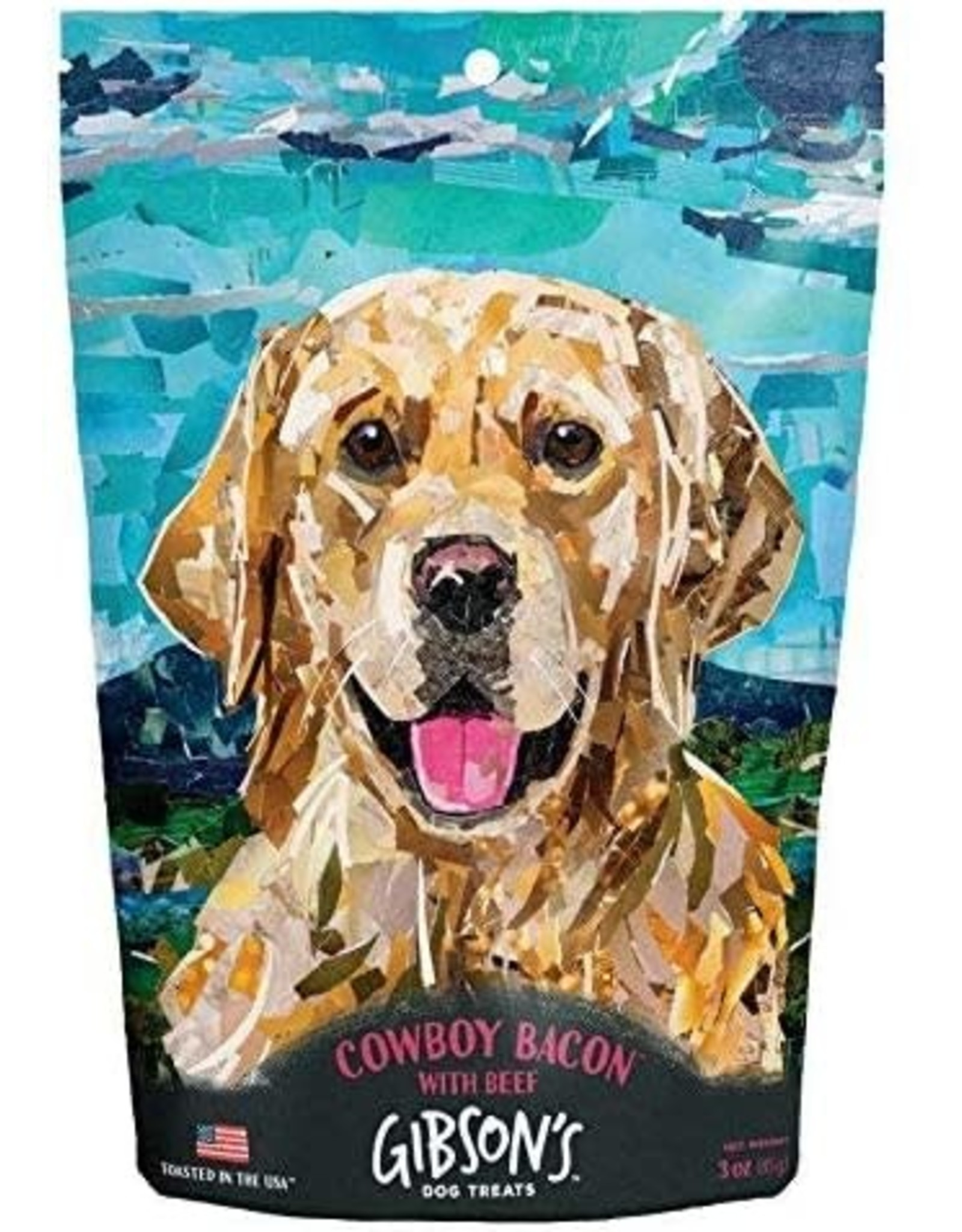 Wild Meadow Farms Gibsons Toasted: Cowboy Bacon with Beef, 3oz