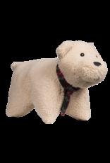 Hugglehounds Soft n' Snugglie Squooshie Polar Bear:, L