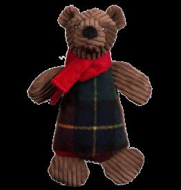 Hugglehounds Original Corduroy Chubbie Brown Bear:, S