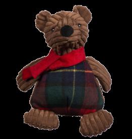 Hugglehounds Original Corduroy Chubbie Brown Bear:, L
