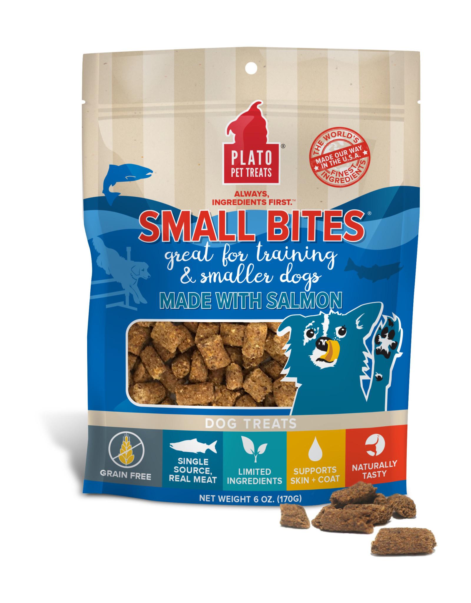 Plato Plato Small Bites: Salmon, 6 oz
