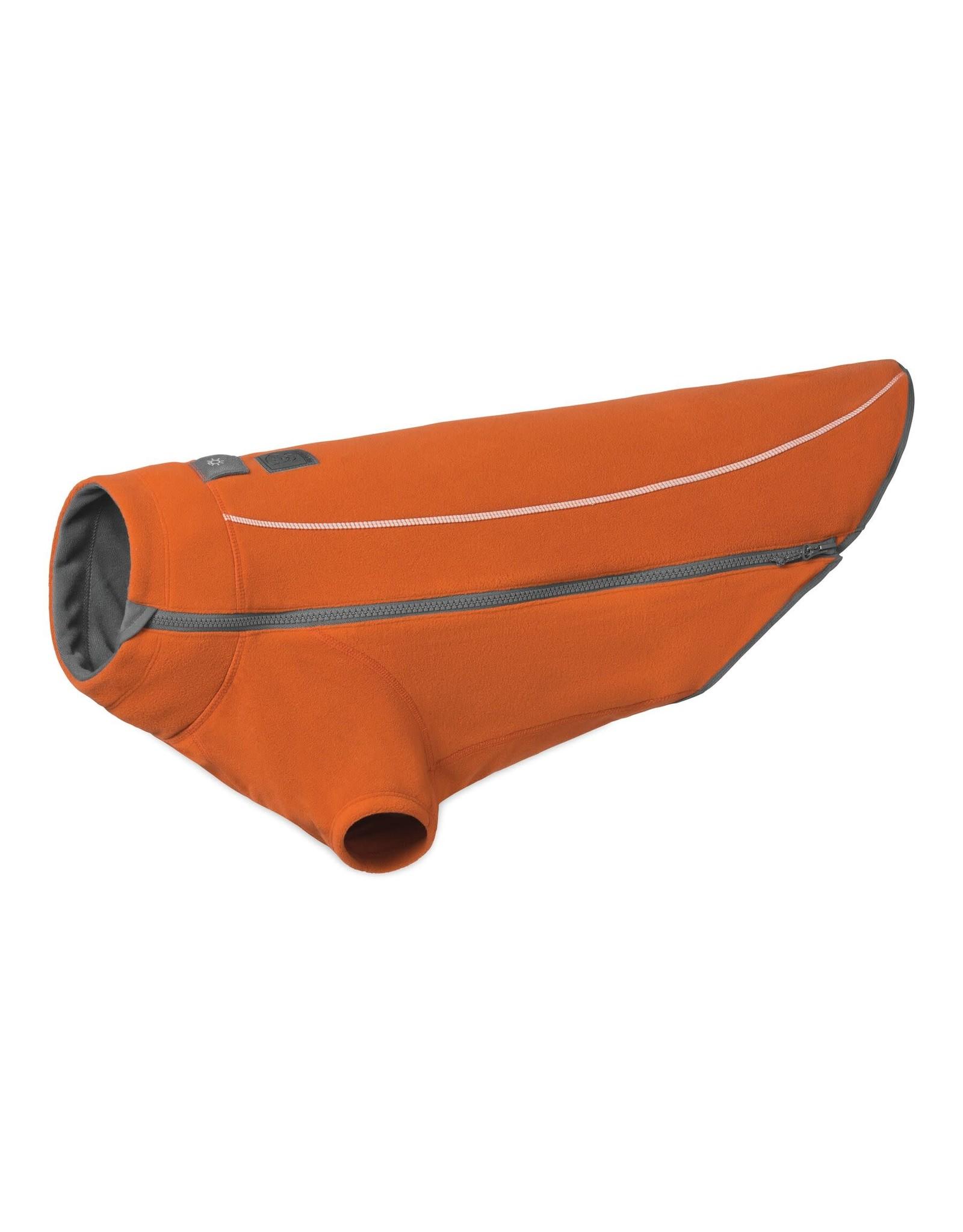 Ruffwear Climate Changer Fleece Jacket: Orange, S
