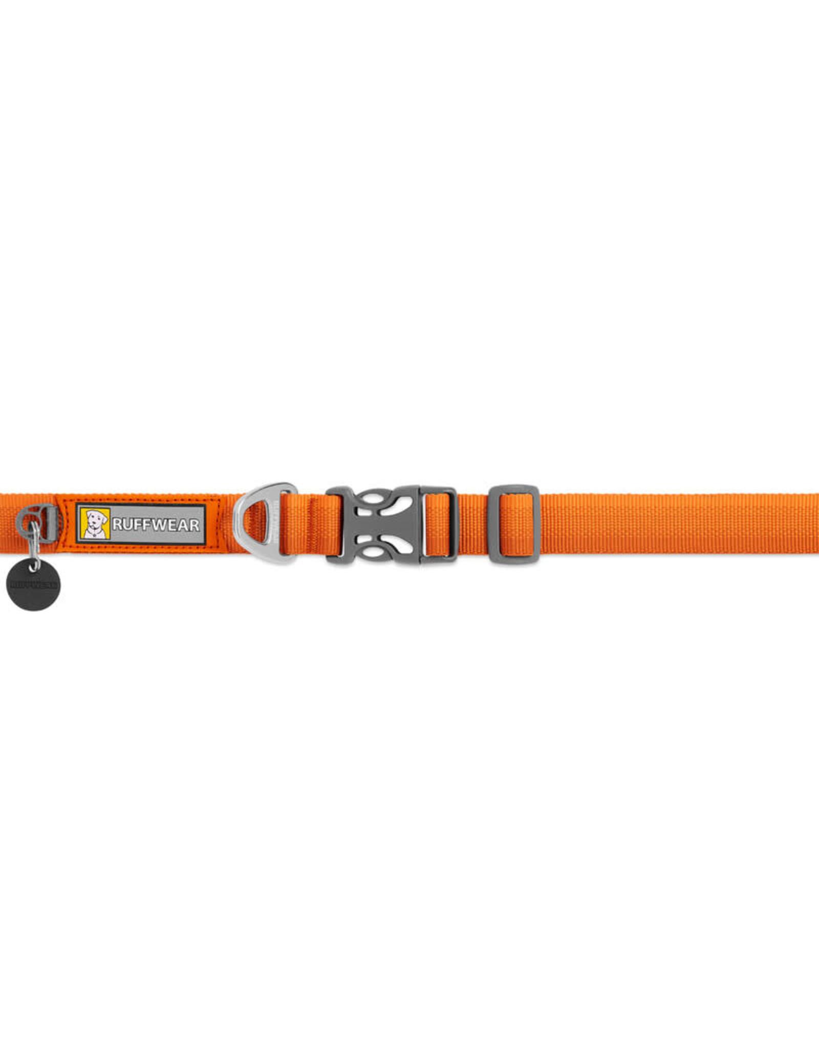 """Ruffwear Front Range Collar: Campfire Orange, 14 - 20"""""""