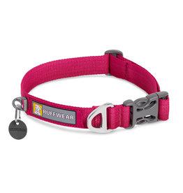 """Ruffwear Front Range Collar: Hibiscus Pink, 11- 14"""""""