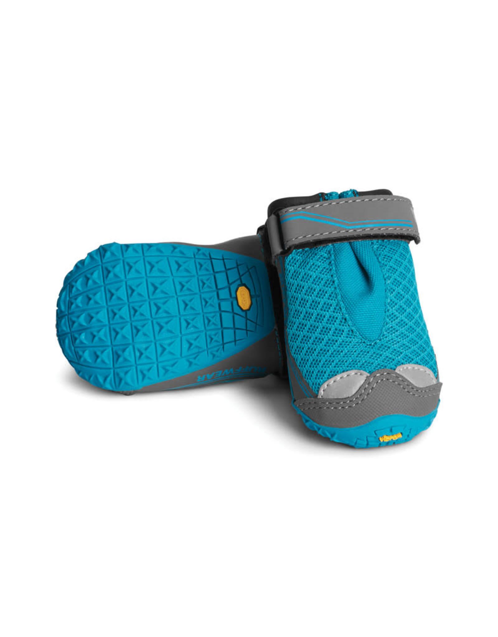 Ruffwear Grip Trex Boots Set of 4: Blue Spring, 2.75