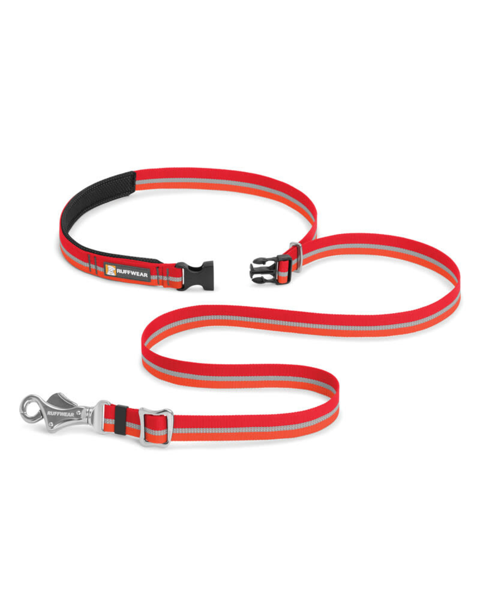 Slackline Leash: Kokanee Red, os