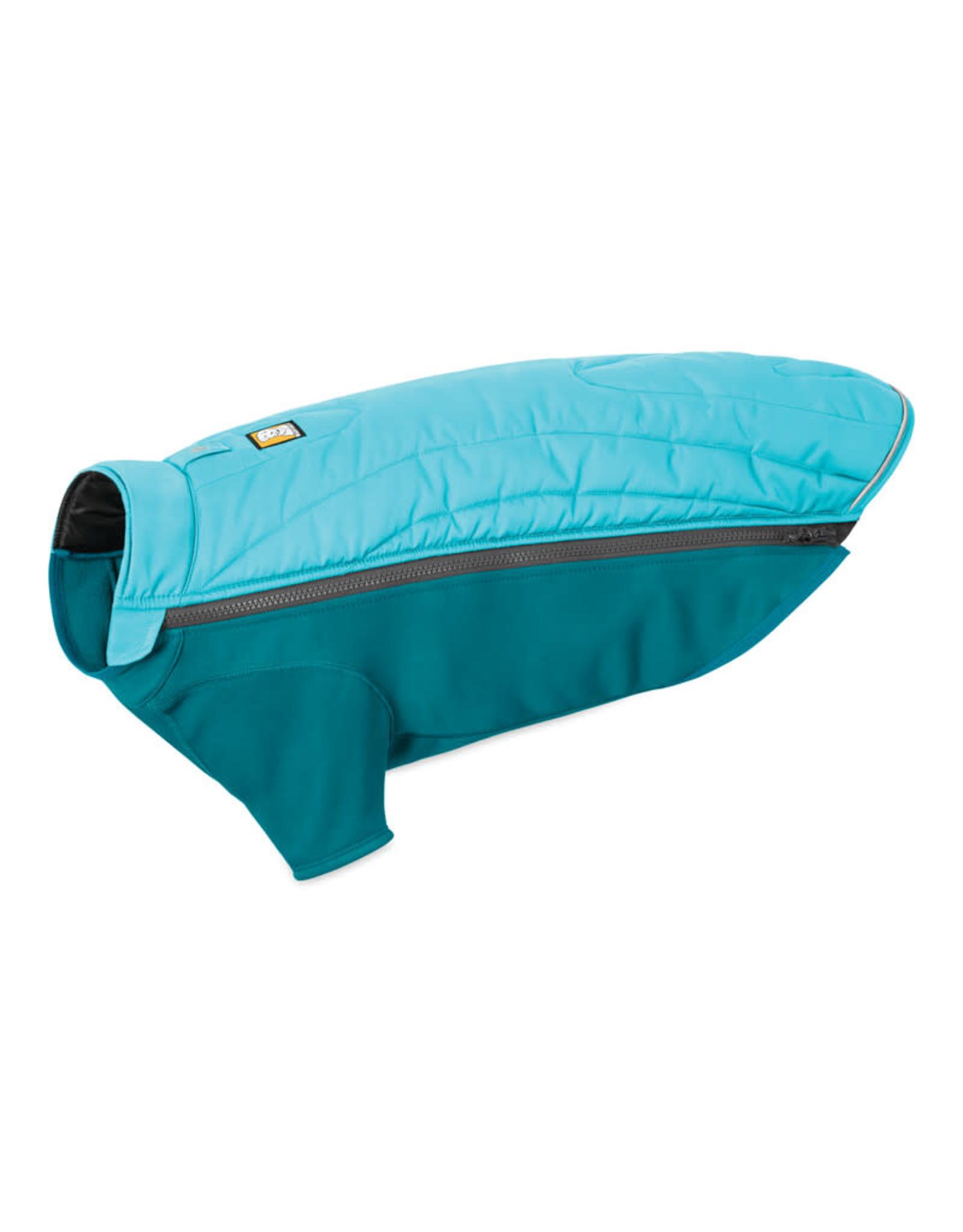 Ruffwear Powder Hound Jacket: Blue Atoll, XS