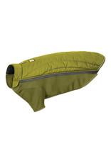 Ruffwear Powder Hound Jacket: Forest Green, S