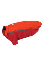 Ruffwear Powder Hound Jacket: Sockeye Red, L