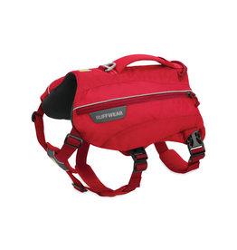 Ruffwear Singletrak Pack: Red Currant, M