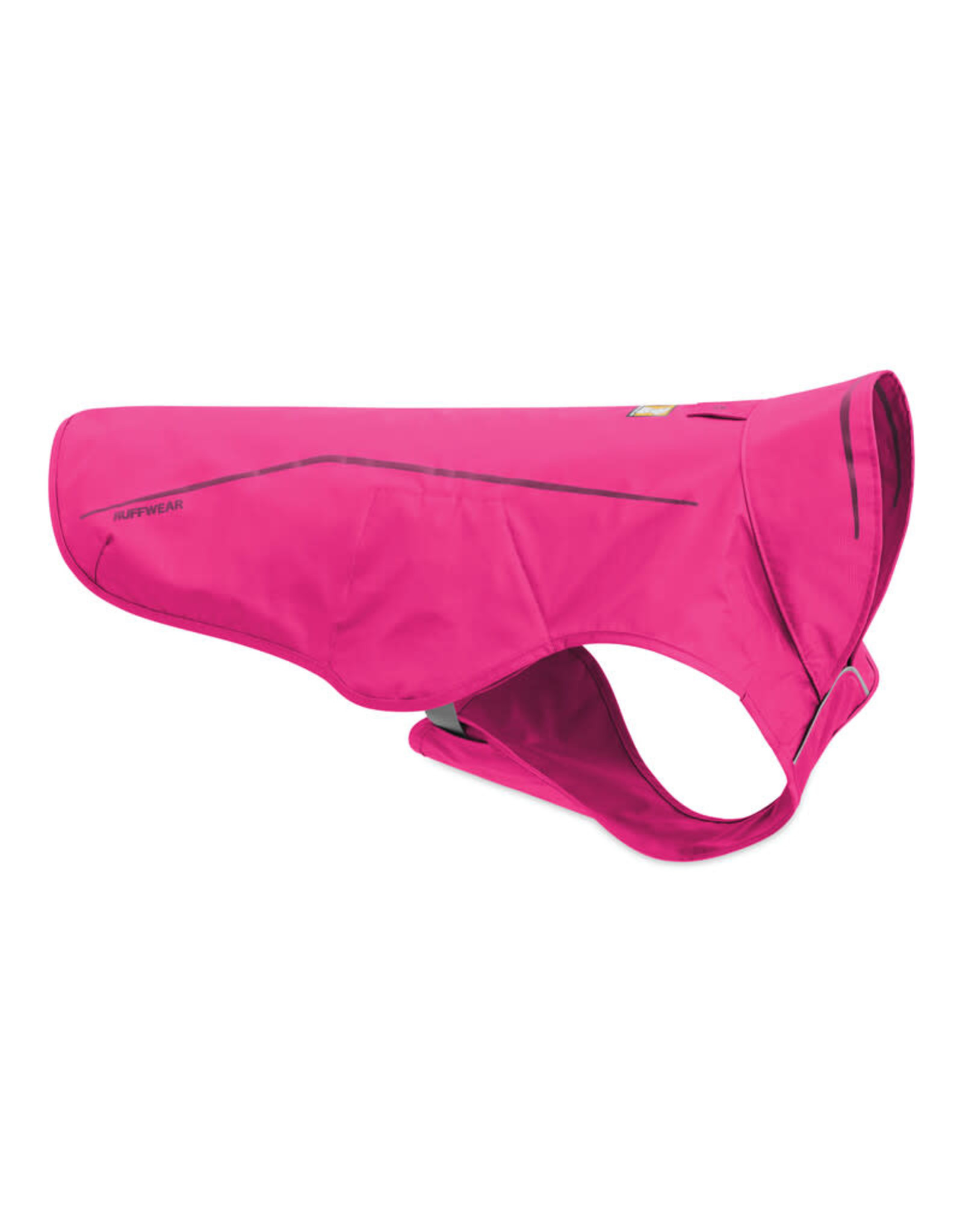 Ruffwear Sun Shower Rain Jacket: Alpenglow Pink, M