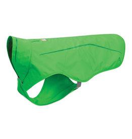 Ruffwear Sun Shower Rain Jacket: Meadow Green, S
