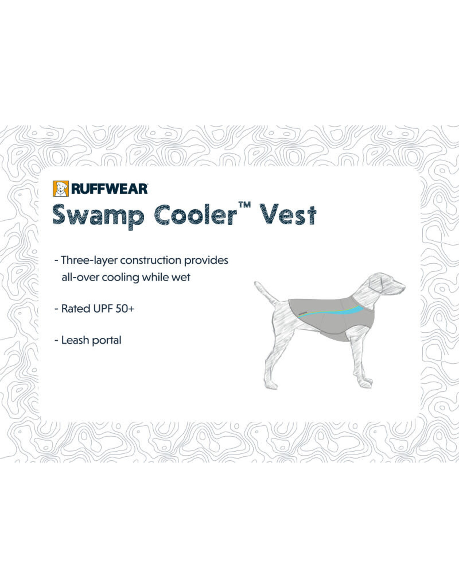Ruffwear Swamp Cooler: Graphite Gray, XS