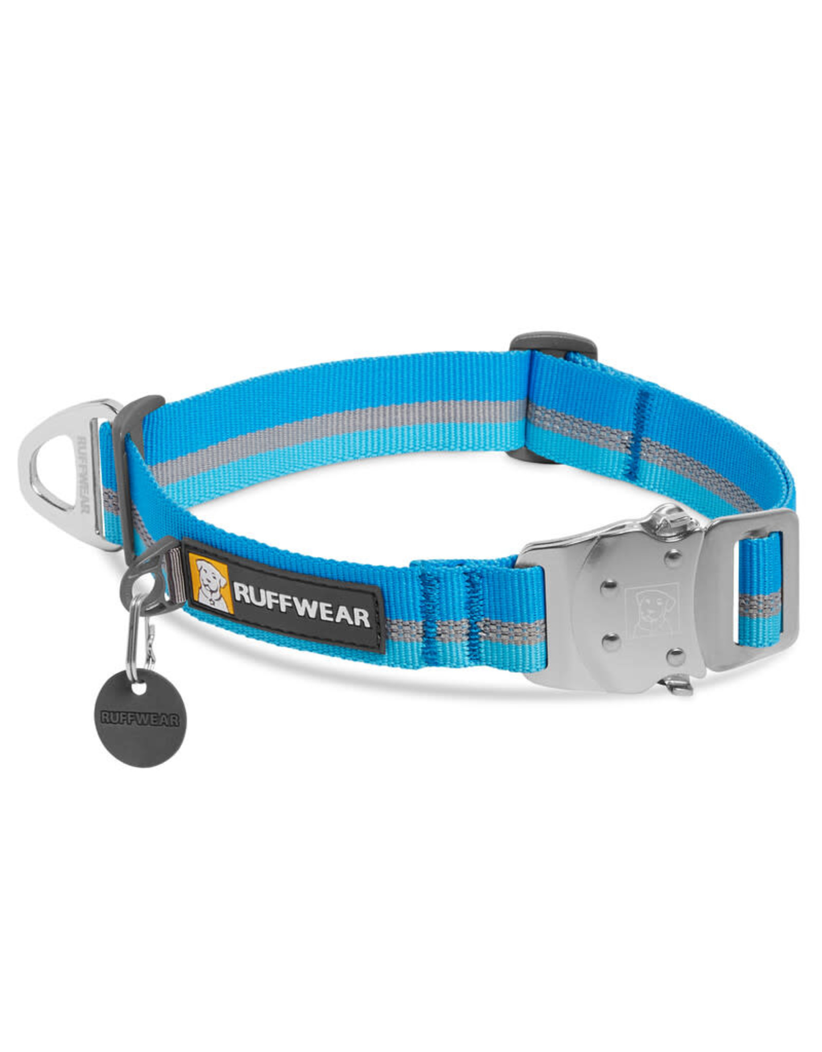 Ruffwear Top Rope Collar: Blue Dusk, 11 - 14 in