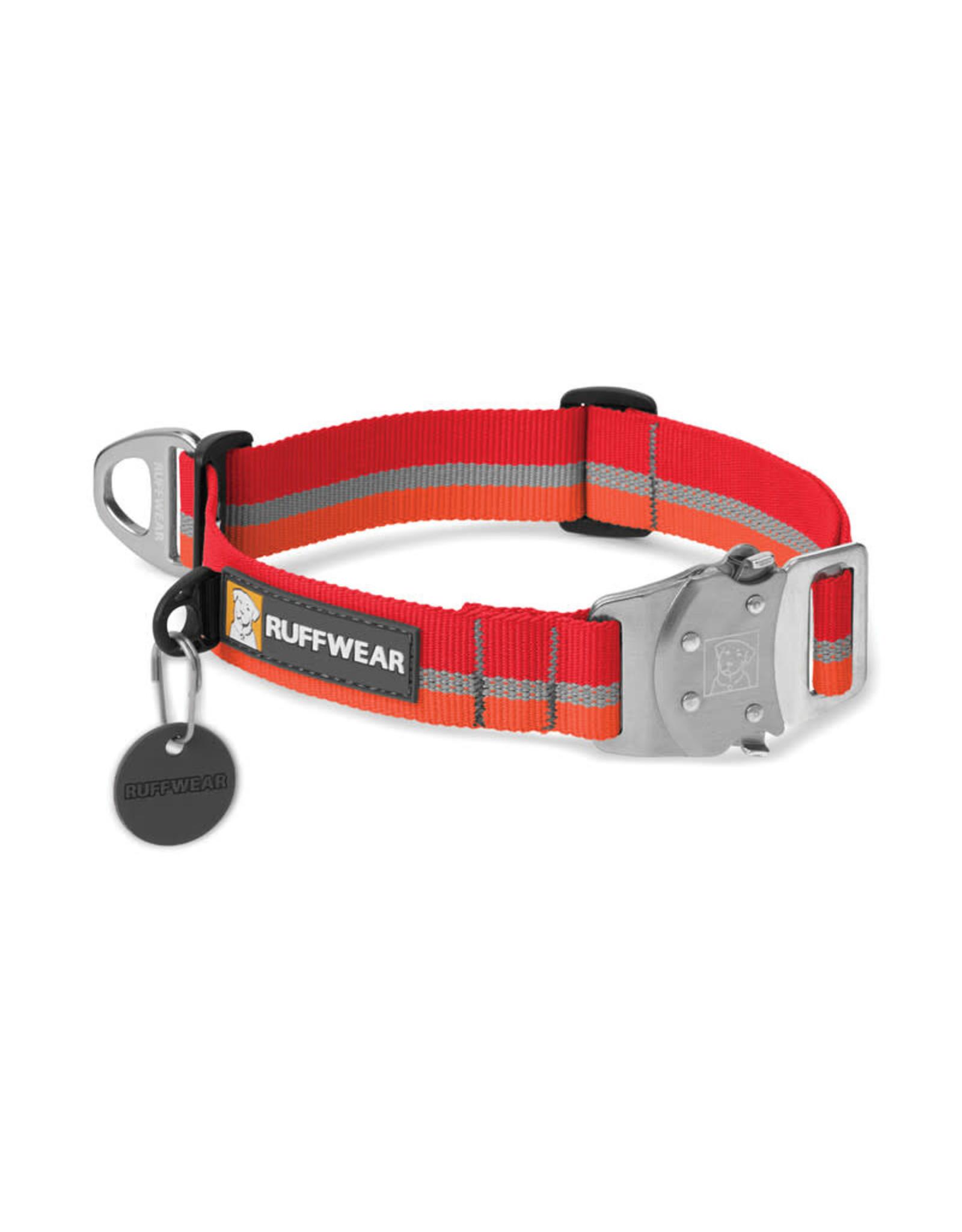 Top Rope Collar: Kokanee Red, M