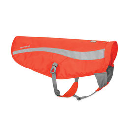 Ruffwear Track Jacket: Blaze Orange, L/XL