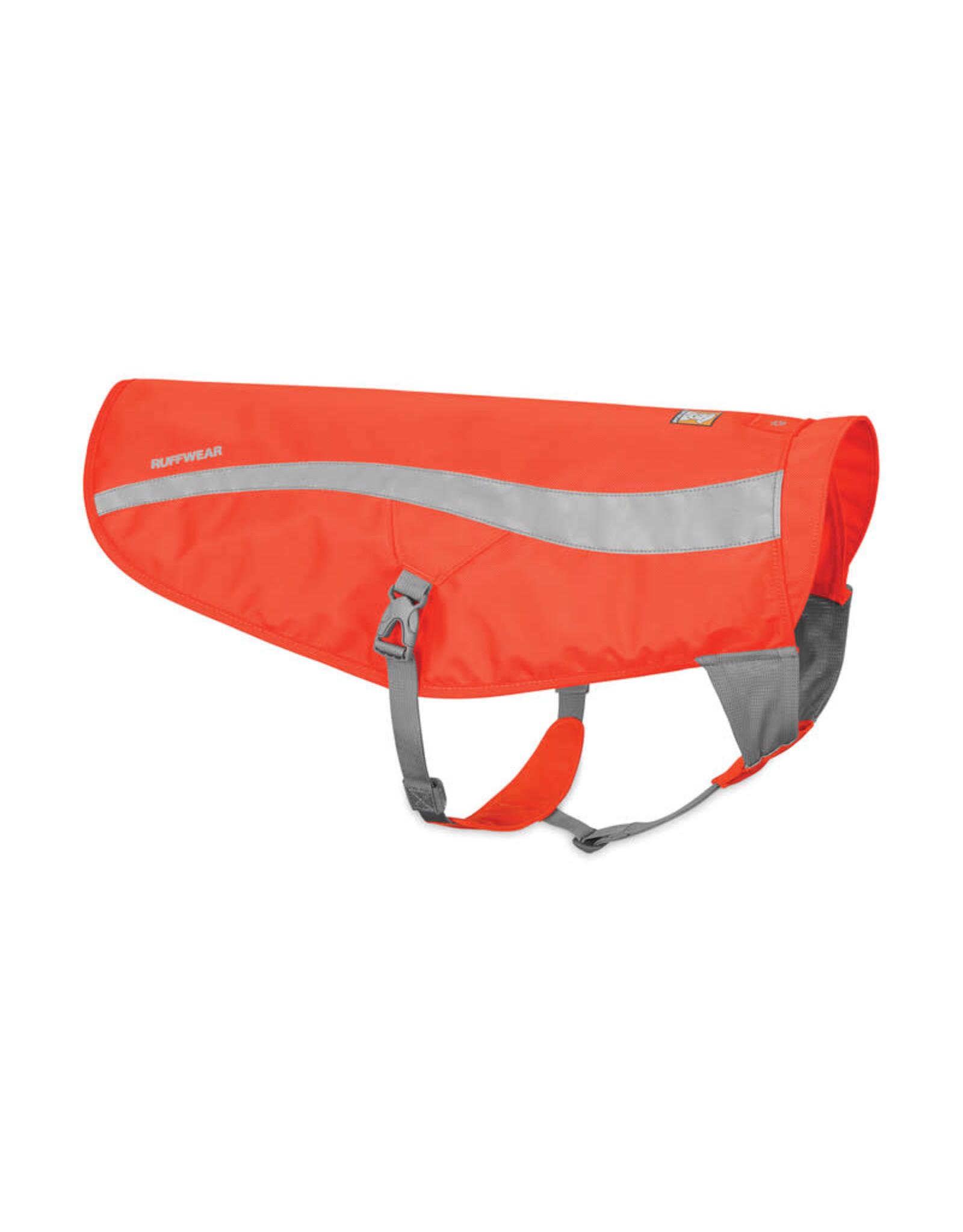 Ruffwear Track Jacket: Blaze Orange, XXS/XS