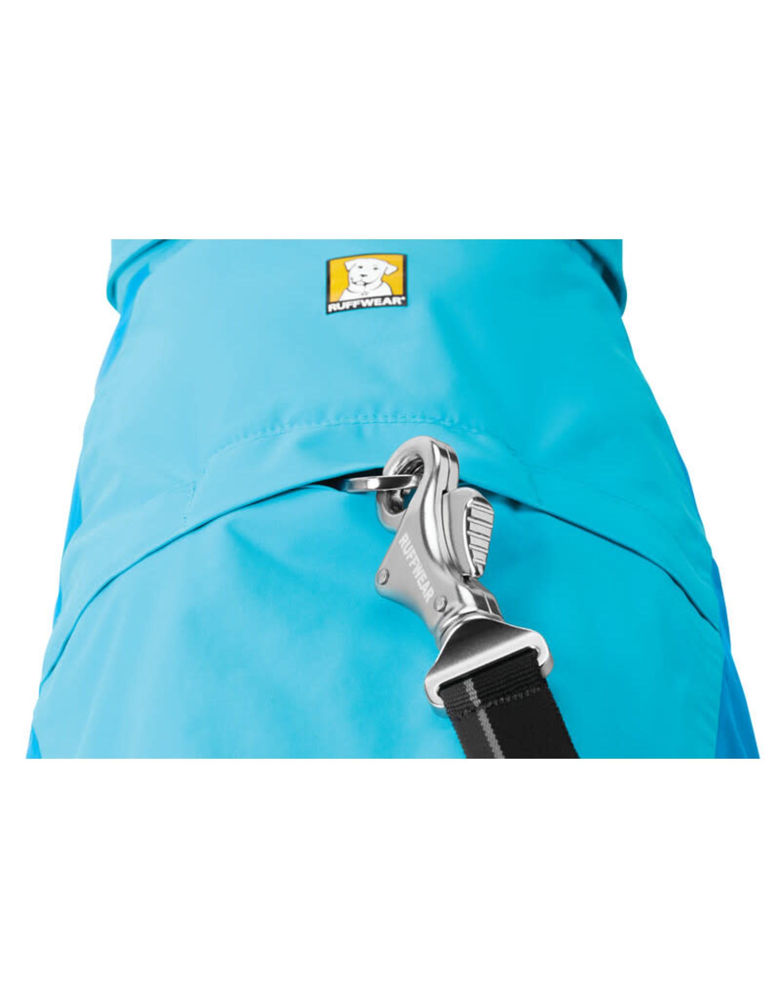 Ruffwear Vert Jacket: Blue Atoll, XS