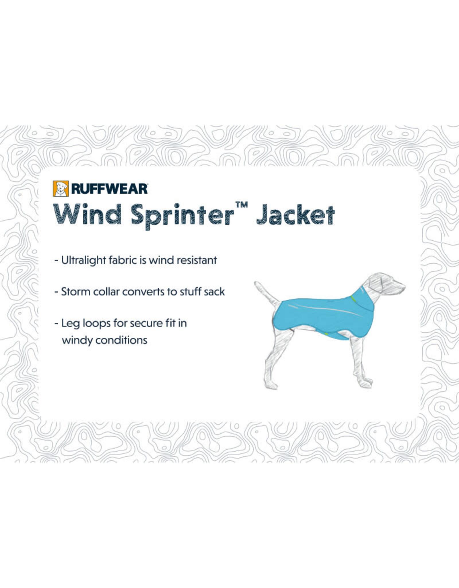 Windsprinter Jacket: Blue Atoll, S