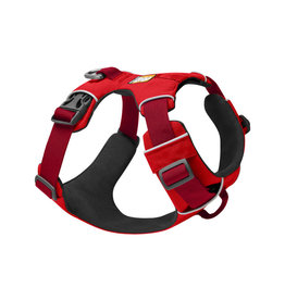 Ruffwear Front Range Harness: Red Sumac, L/XL