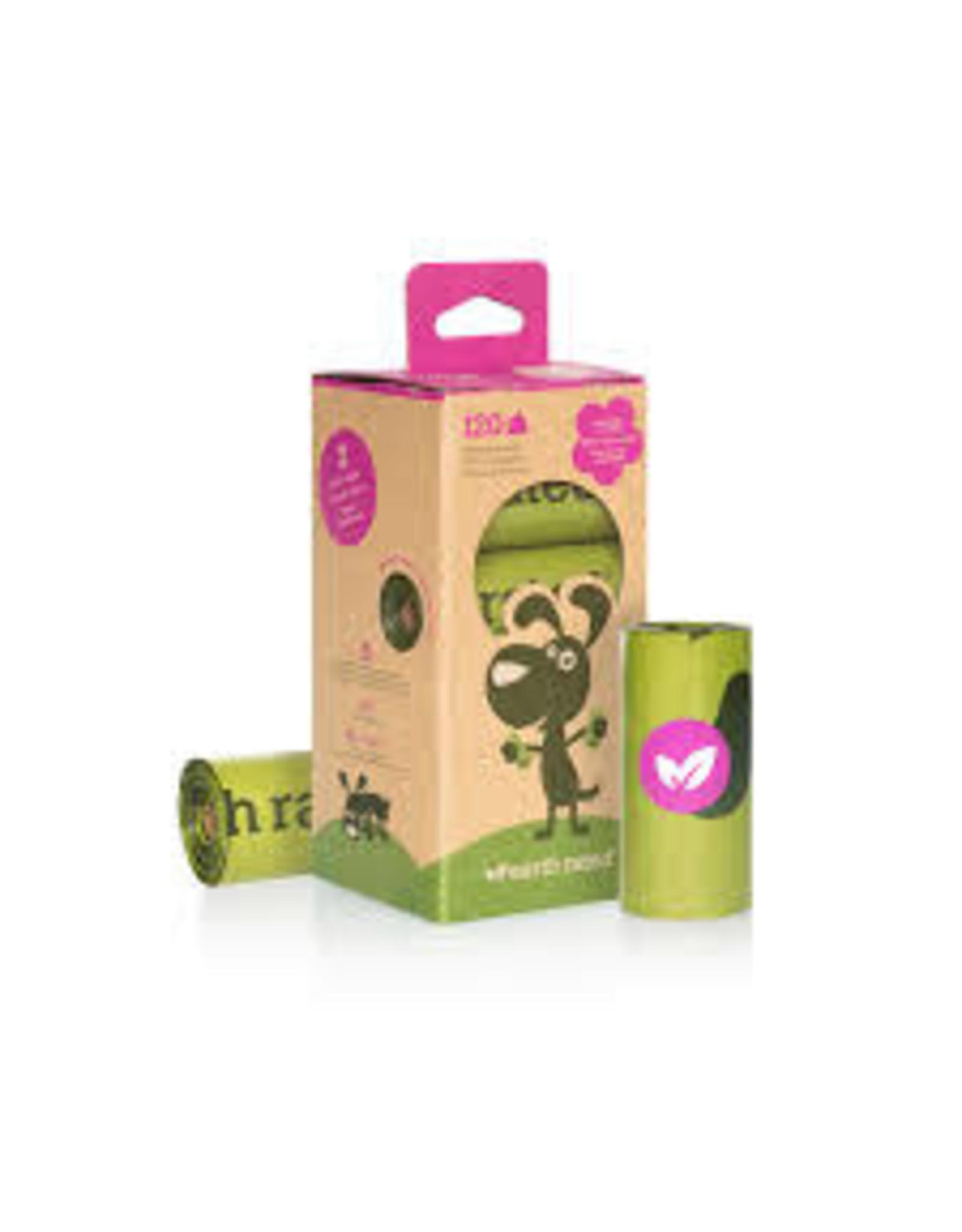 EarthRated Poop Bags: Lavendar Scented, 8 rolls