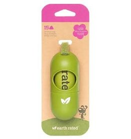 EarthRated Poop Bag Dispenser: Green, os