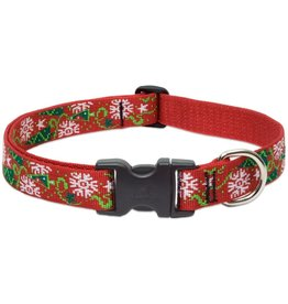 Lupine Lupine Christmas Cheer Collar: 1 in wide, 16-28 inch