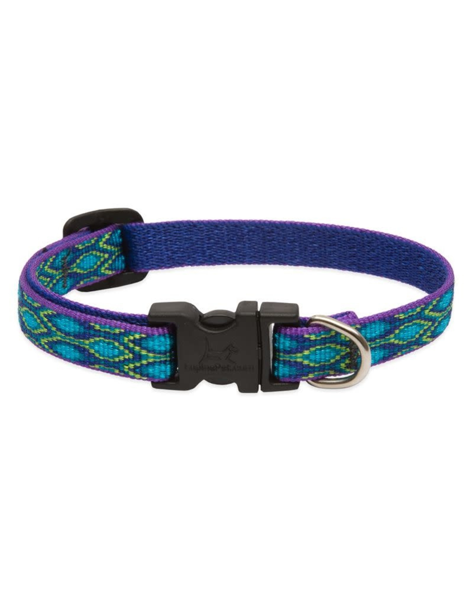 Lupine Lupine Rain Song Collar: 1 in wide, 16-28 inch